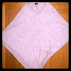 Marked Grey Cashmere Blend Poncho